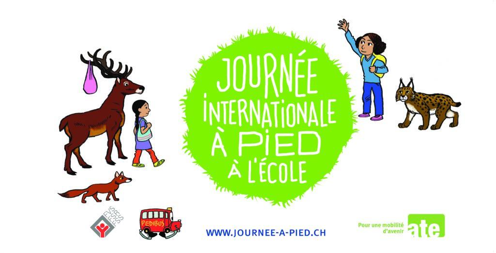 Journée internationale à pied à l'école, vendredi 18 septembre 2020